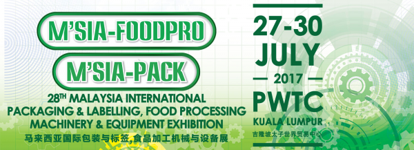 M'SIA-PACK 2017 i M'SIA-FOODPRO 2017
