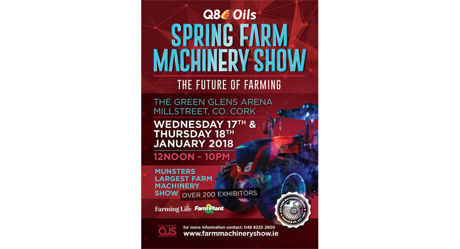 Q8 Oils Spring Farm Machinery Show Millstreet 2018