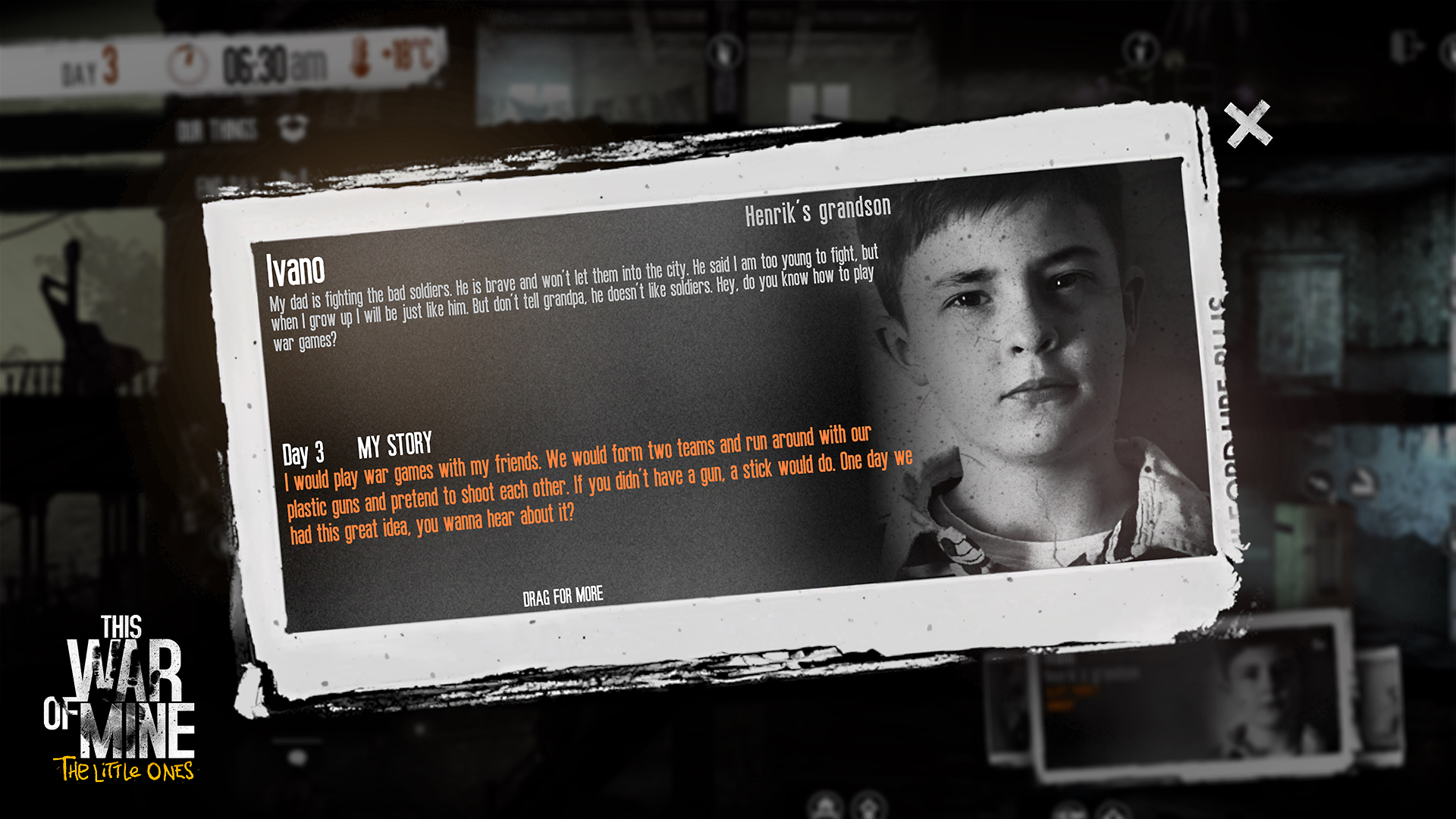 Grafika gry This War of Mine