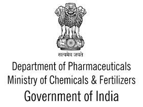 Department of Pharmaceuticals Government of India logo